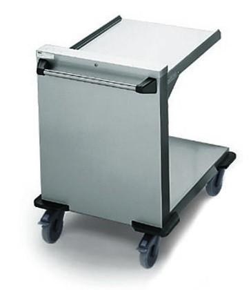 Rieber PO-GN2/1 Plattformstapler offen für Tabletts oder Körbe