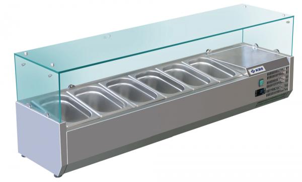 KBS RX 1500 Kühlaufsatz mit Glasaufbau 340150