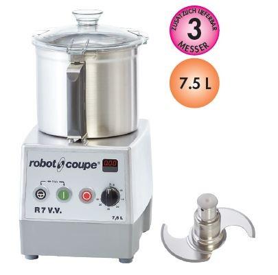 Robot Coupe R 7 V.V. Tischkutter - 230 Volt - 300 bis 3500 U/Minute - neues Modell
