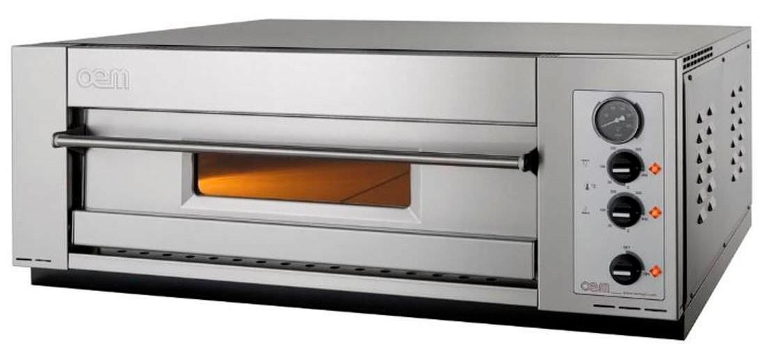 oem domitor dm 630 sm einkammer pizzaofen 1 x 6 pizza 30 cm schmale version gastrouniversum