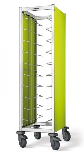 BlancoSeitenwandverkleidung 2-seitig, farbig für Tablett-Abräumwagen TAW