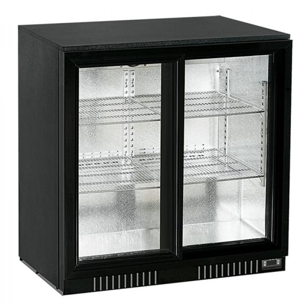 KBS Backbar KBS 196 mit 2 Glasschiebetüren - Breite 865 mm