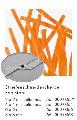 Alexander Solia Streifenschneidescheibe für Cutty Gemüseschneider