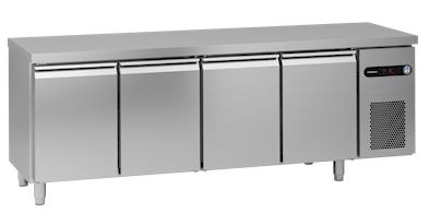 Hoshizaki Snowflake Kühltisch SCR-225CGRC-LLRR-L1 - Edelstahl für 1/1 GN