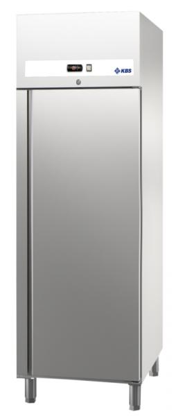 KBS Ready TKU 707 Edelstahl-Tiefkühlschrank für GN 2/1 - 660 Liter mit Auflagerippen