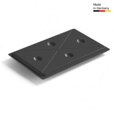 Rieber Kühlplatte GN 1/1  Kunststoff  für  Thermoporte  schwarz