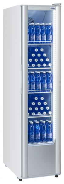 KBS 326 G Slim Glastürkühlschrank - Breite 440 mm - weiß