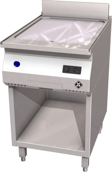MKN HotLine Gas-Griddleplatte 1 glatt oder halb geriffelt