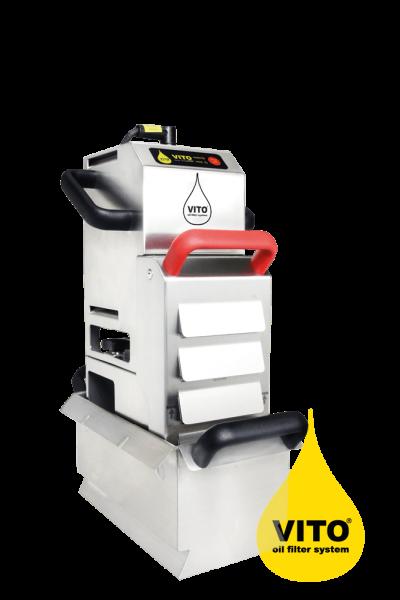 Vito Frittierölfilter Vito 50 für bis zu 20 Liter - Filtrationsgerät mit Partikelfilter