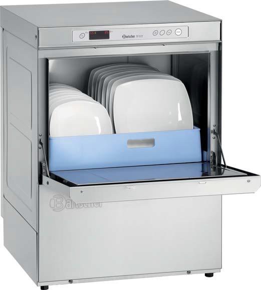 Bartscher TF 517 LPWR Geschirrspülmaschine Deltamat - voll ausgestattet mit Enthärtung