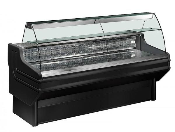 COOL-LINE J 250 ST BLACK Freikühltheke mit statischer Kühlung - Breite 2500 mm