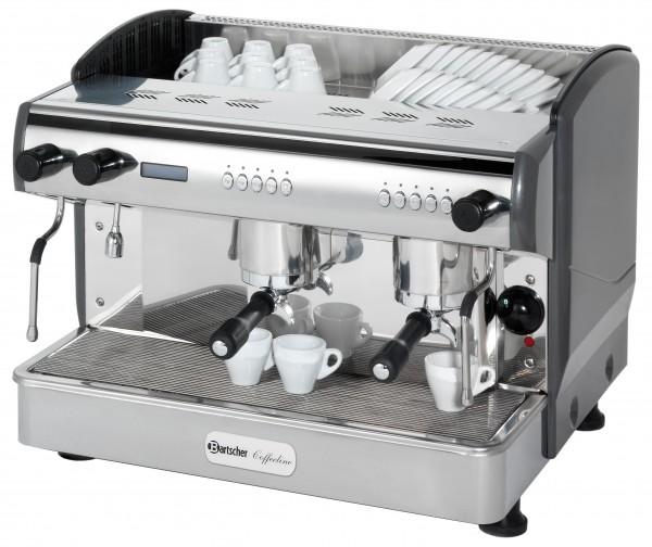 Bartscher Coffeeline G2 Kaffeemaschine - 11,5 Liter - 2-gruppig Siebträger