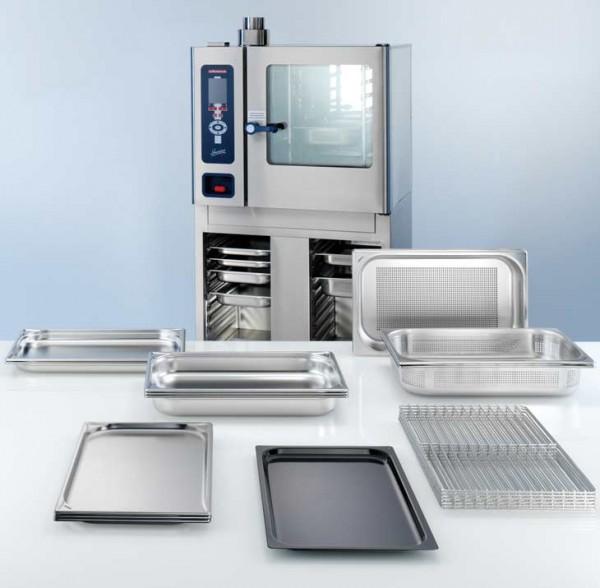 BLANCO Gastronorm-Set STARTER für Kombidämpfer mit 6 x 1/1 Einschub (20-teilig) - Abb. ähnlich