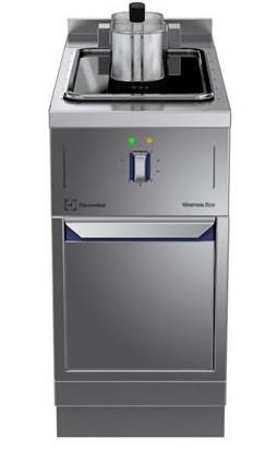 Thermaline 850 Friteuse Standgerät 7 Liter - Elektro mit Aufkantung - Abb. ähnlich Lieferung erfolgt mit Füssen