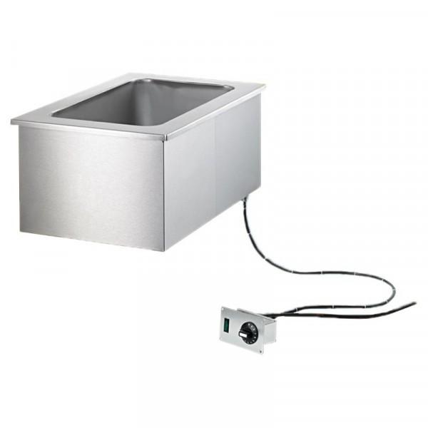 Scholl Einbau-Bain Marie 3113 für 3 x 1/1-200 - manuelle Befüllung