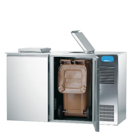 Chromonorm Abfallkühler 2 x 240 Liter steckerfertig CAKM022400 - Deutscher Markenhersteller