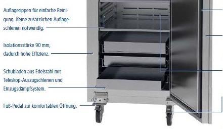 Cool Compact Medicos Edelstahlschublade 702448