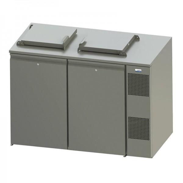 COOL-LINE WASTE 240 / 2 - Abfallkühler 2x 240 Liter steckerfertig mit Winterschaltung / Sumpfheizung
