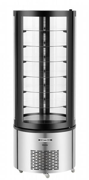 Bartscher Kuchenvitrine 400L mit 6 stabilen Glasscheiben