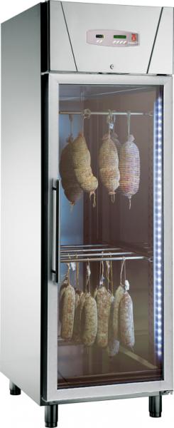 KBS PL 826 G Fleischkühlschrank mit Glastür - by friulinox - Präsentations- und Lagerschrank