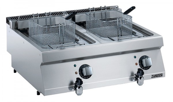Zanussi EF7 2B12LT Fritteuse 2 x 12 Liter - Elektro Serie EVO 700 2B