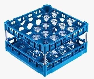 Miele U 545 Kunststoffkorb für 25 Gläsern