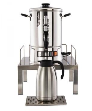 Hogastra Edelstahl-Sockel mit Abtropfschale für CNS Kaffeeautomat  (Lieferung ohne Maschine)