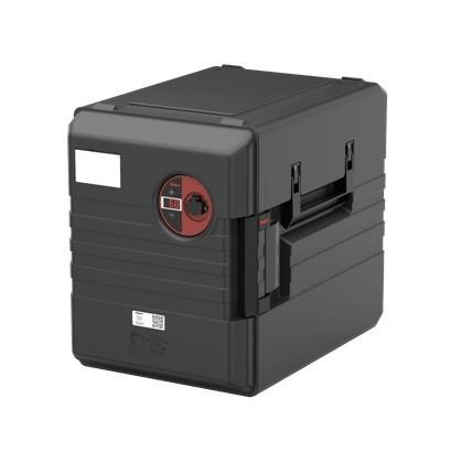 Rieber Thermoport 1000 KB-D schwarz  thermoport K 1000 D-FLAT - Umluftbeheizt - Digital