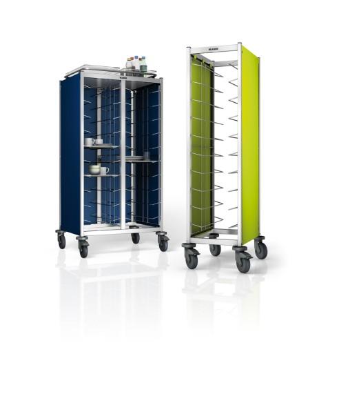 Blanco Seitenwandverkleidung 3-seitig, farbig für Tablett-Abräumwagen TAW 2 x 10