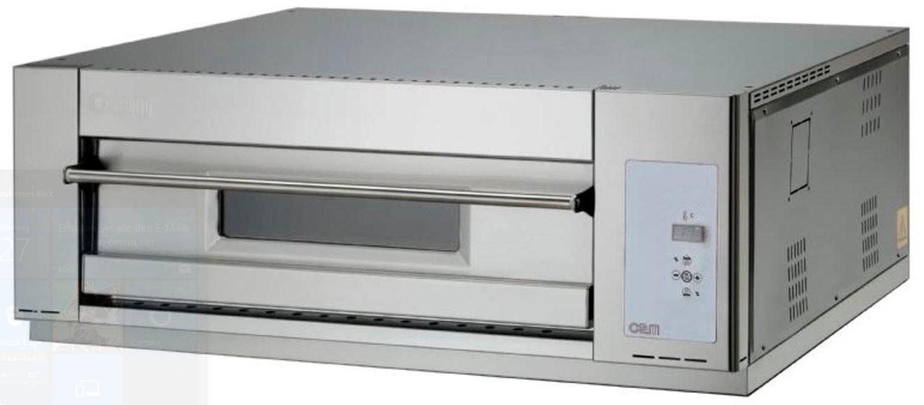 oem domitor dm 430 dg einkammer pizzaofen 1 x 4 pizza 30 cm digital gastrouniversum. Black Bedroom Furniture Sets. Home Design Ideas