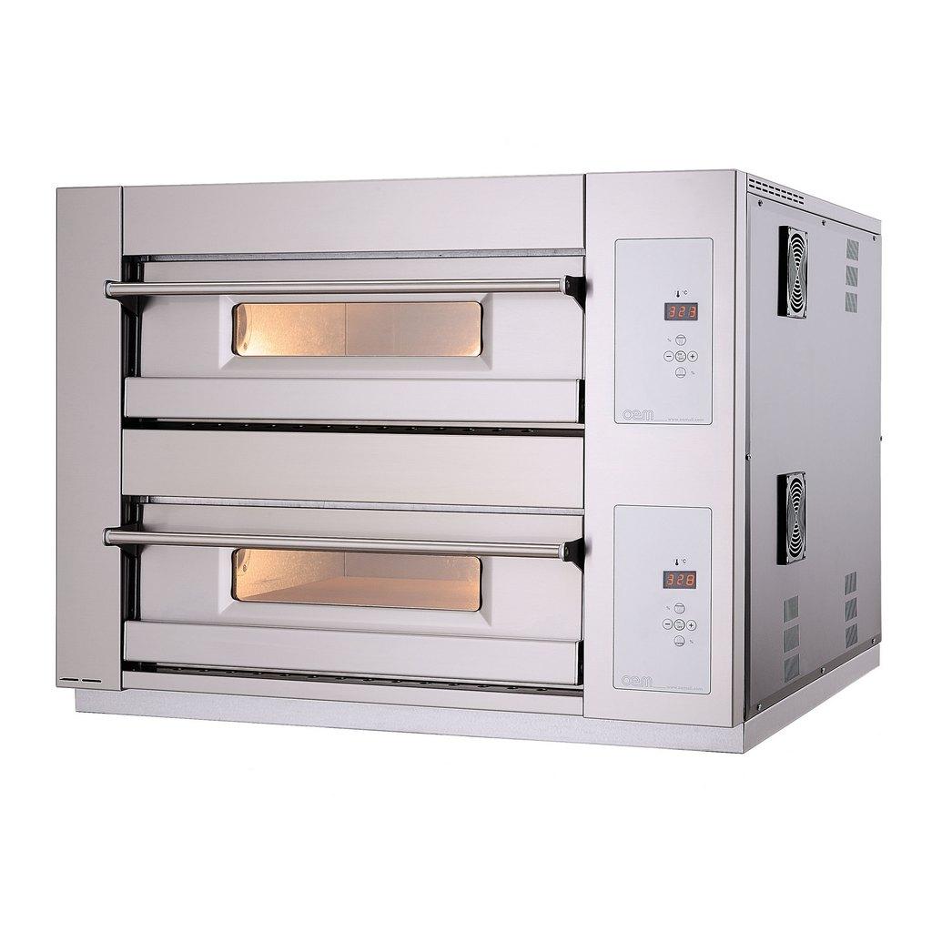 oem domitor dm 830 d doppelkammer pizzaofen 4 4 pizza 30 cm digital gastrouniversum. Black Bedroom Furniture Sets. Home Design Ideas