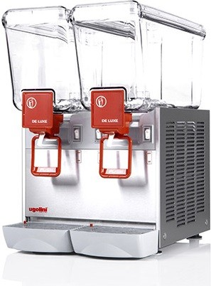 NOSCH Arctic Deluxe 20/2 S - Kaltgetränke-Dispenser - 2 x 20 Liter Caddy NT 20/2 - Ugolini