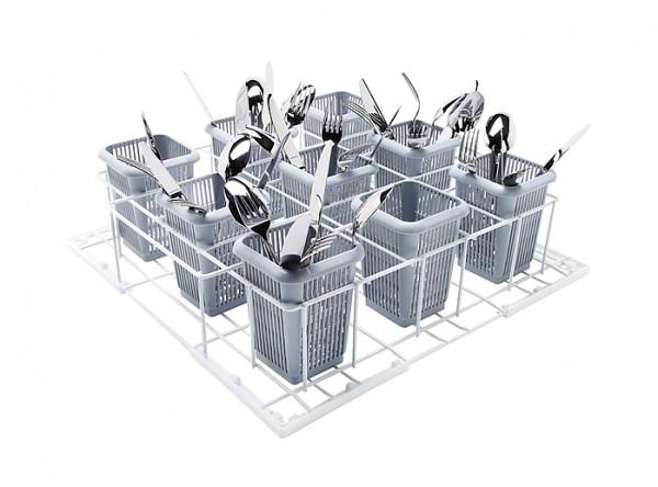 Miele U 504 Kunststoffkorb für Bestecke, 9 Köcher