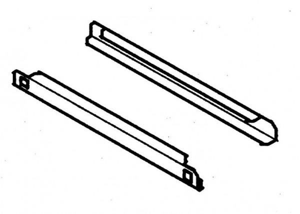 Cool Compact Auflageschienen GN 2/1 - Edelstahl für Gastro-Kühlschrank