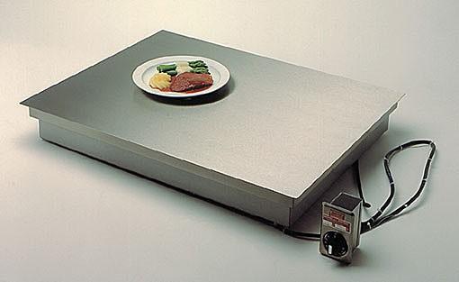 Scholl Wärmeplatte 26100 FB zum flächenbündigen Einbau - Grösse 1000 x 600 mm