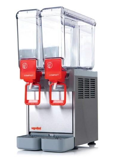 NOSCH Arctic Compact 8/2 C - Kaltgetränke-Dispenser 2 x 8 Liter - Caddy NT - Ugolino