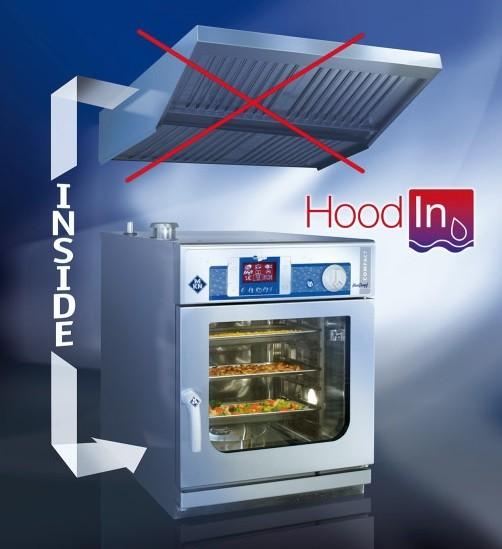 MKN HoodIn Integrierter Dampfkondensator für Compact/Junior Kombidämpfer SpceCombi