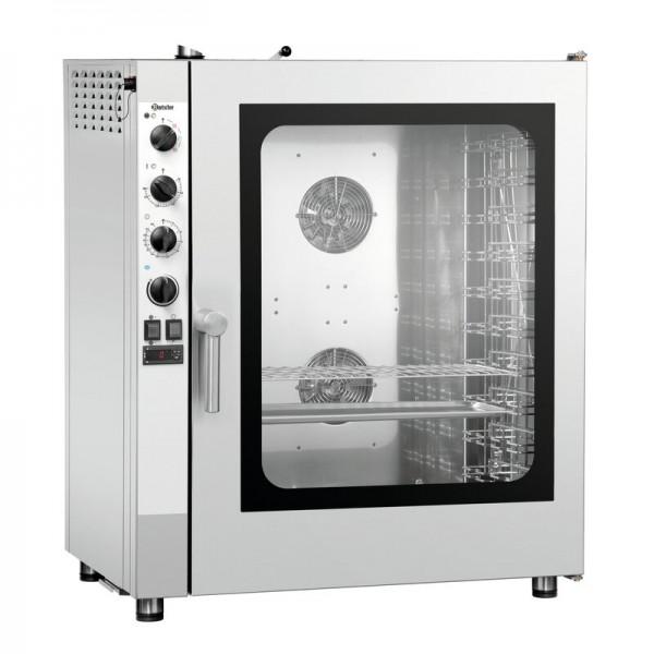 Bartscher Silversteam 10110M Kombidämpfer 116631 bis zu 10 x 1/1 GN - manuell - Elektro