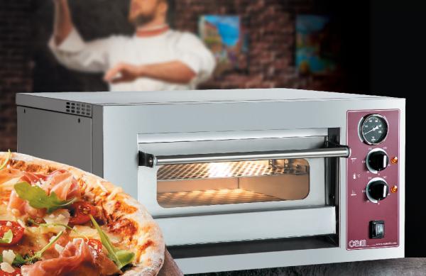 OEM START - Einkammer Pizzaofen - Einstiegspizzaofen C63EM 230M - 230 Volt