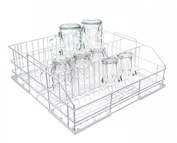Miele U 524/1 Drahtkorb für Gläser 100 mm Durchmesser mit 4 Gläserreihen