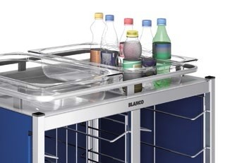 Blanco Tablett-Abräumwagen TAW Galerie - Option gegen Aufpreis - nachrüstbar