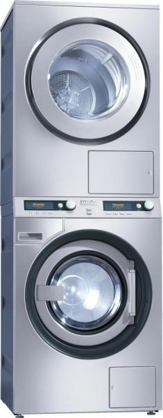 Miele Wasch-Trocken-Säule PWT 6089 Vario XL LP Laugenpumpe / Ablufttrockner Edelstahl für 9 kg