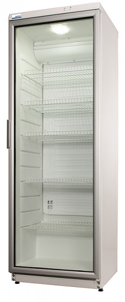 COOL-LINE Glastürkühlschrank CD 350 LED mit Umluftkühlung