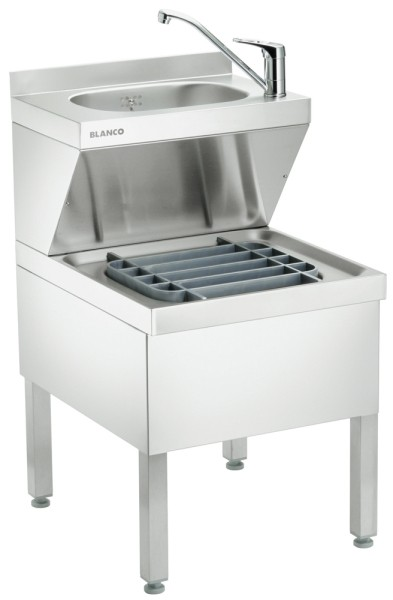 Blanco HAU-P 5x7 Handwasch- und Ausgussbeckenkombination