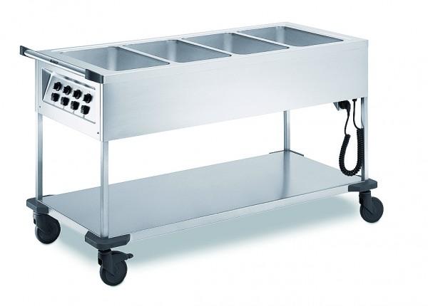 Blanco SAW 4 Speisenausgabewagen - beheizt - Bain-Marie Wagen 572155