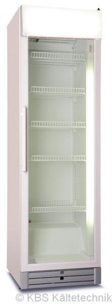 KBS Glastürkühlschrank CD 480 GDU mit Umluftkühlung und Display