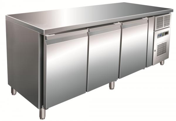 KBS KT 410 Kühltisch CNS mit 4 Türen