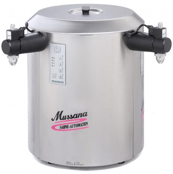 Mussana Sahnemaschine 2x6 Liter DUO Variante 1