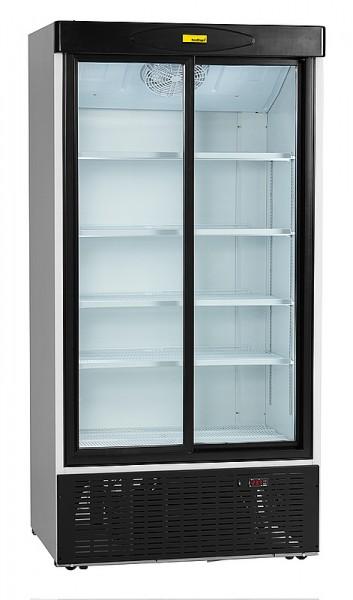 Nordcap KU 1000 G-SD Glastürkühlschrank