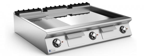 Mareno Elektro-Grillplatte glatt - Breite 1200 mm - Tischgerät